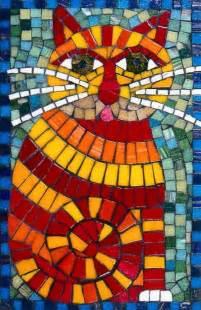 mosaic craft mosaic cat mosaic design craft mosaics