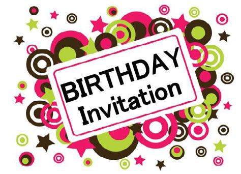 make birthday invitation cards for free printable birthday invitations 171 home weekly