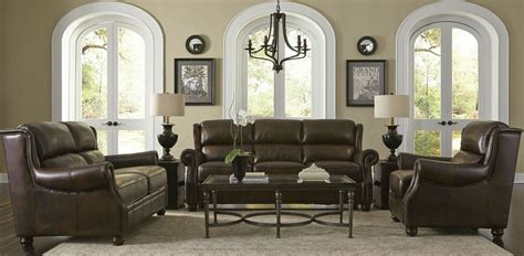 rustic living room furniture sets appalachian rustic savauge leather living room set from