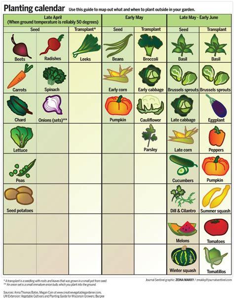 when to plant vegetable garden garden calendar when to plant fruits and