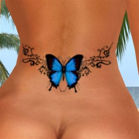25 best ideas about blue butterfly tattoo on pinterest