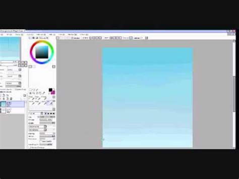 paint tool sai sky tutorial simple sky tutorial paint tool sai