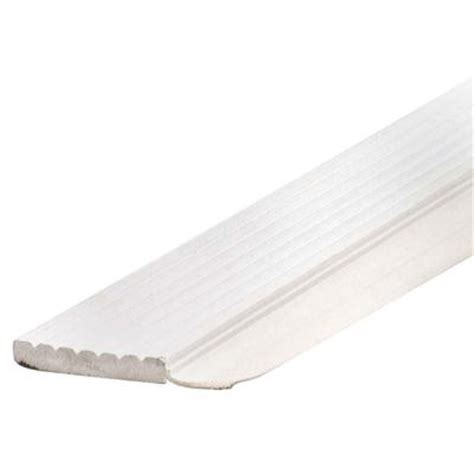 garage door seals home depot md building products 7 ft white dual vinyl top and side