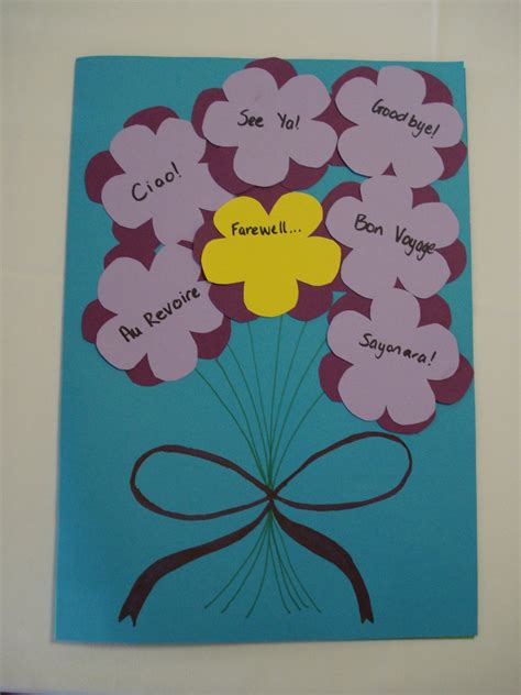 how to make a farewell card farewell card front by aussiesheila on deviantart