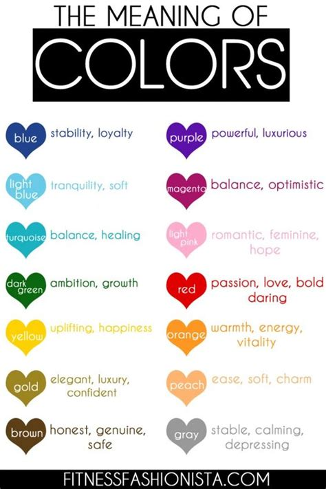 mood colors meaning you wondered what colors meant now you can