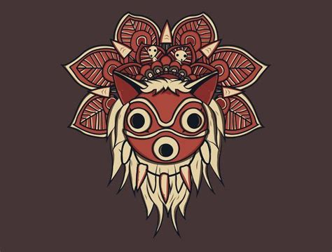 best 25 princess mononoke tattoo ideas on pinterest