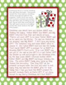 gift exchange stories for the family