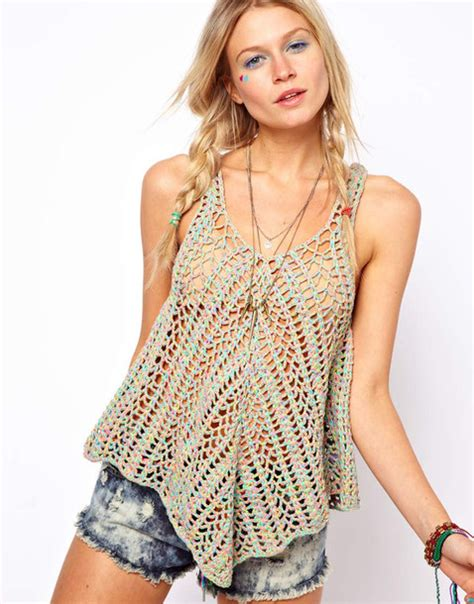 top knitting websites tank top knitted top lace top knitted sweater lace