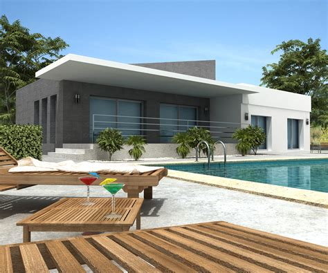 moderne villa new home designs modern villa designs