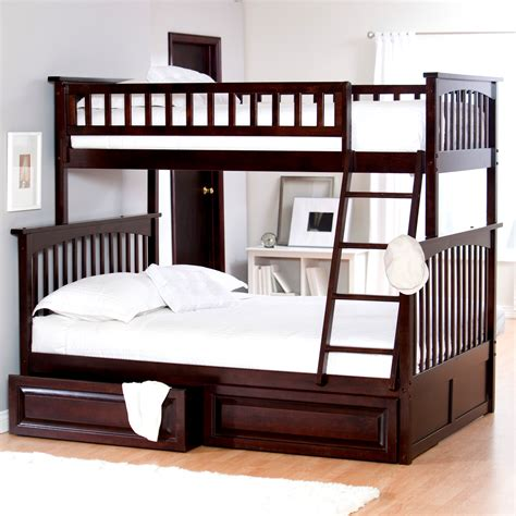 pictures of a bunk bed atlantic furniture columbia bunk bed