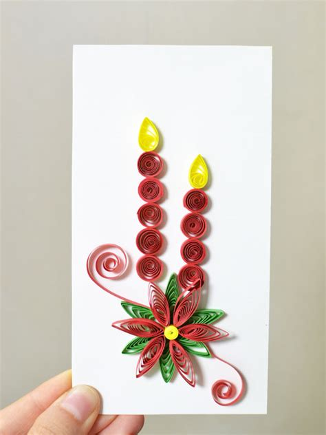 how to make paper quilling cards how to make new year paper quilling greeting cards