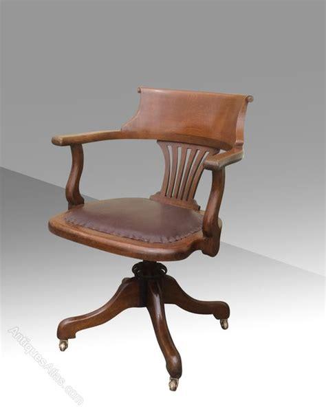 captains chairs swivel antique swivel captains desk chair antiques atlas