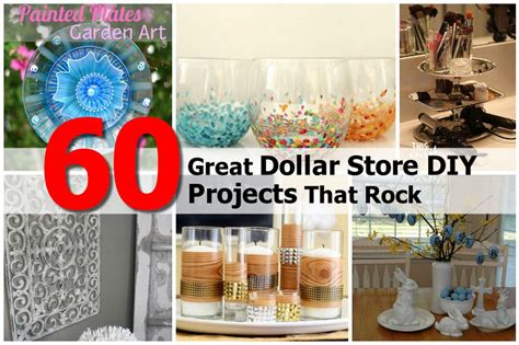 dollar store craft projects 60 great dollar store diy projects that rock