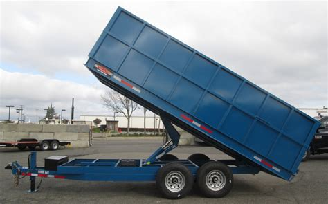 Car Dump Trailer by New And Used Trailers Utility Trailers Tow Trailers