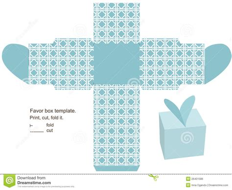 for to make free gift box template stock vector image of