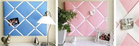 pin boards for rooms fabric pin ribbon boards custom made in sydney australia