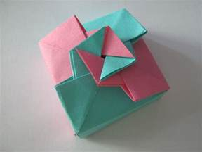 Paper Origami Gift Box Comot