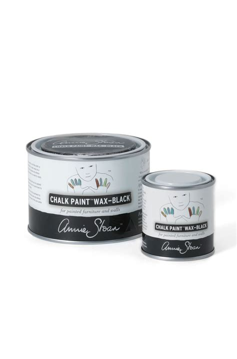 chalk paint and wax black chalk paint 174 wax sloan