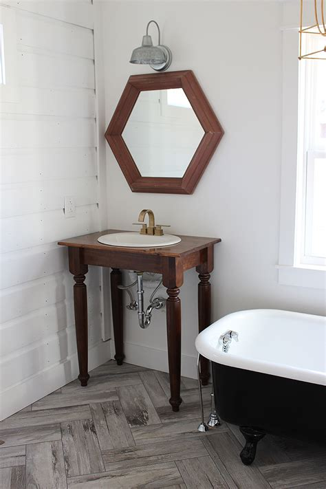 farmhouse bathroom vanities diy farmhouse bathroom vanities thewhitebuffalostylingco