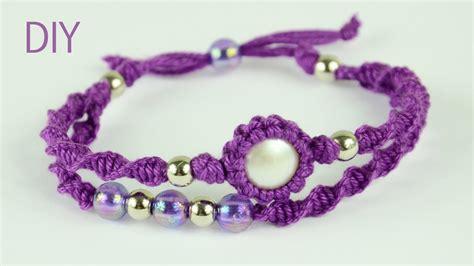 how to make macrame jewelry macrame bracelet tutorial
