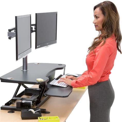 the office standing desk the 10 best adjustable standing desks in 2017