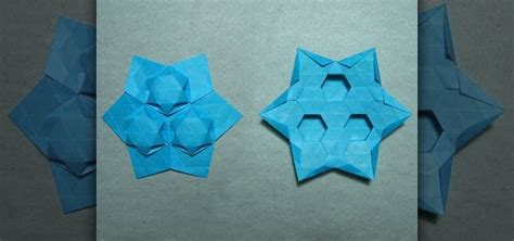 tessellation origami how to origami a tessellation puff 171 origami
