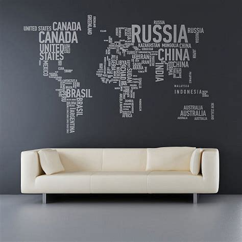 Stickers On Your Wall a different world wall stickers