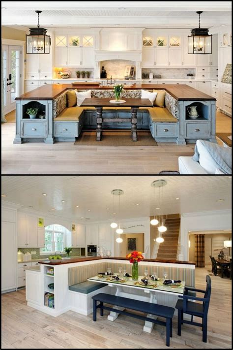 kitchen island with built in seating 25 best ideas about build kitchen island on