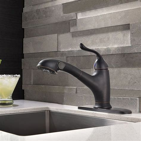rubbed bronze kitchen sink faucet mona rubbed bronze kitchen sink faucet