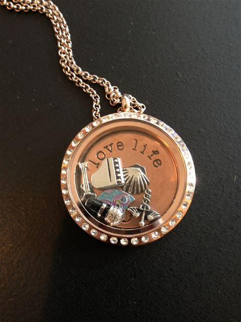 Origami Owl Gold Locket And Chain Origami Owl