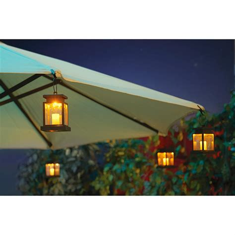 solar powered umbrella lights solar patio umbrella clip lights 219378 solar outdoor