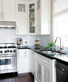 countertops with white kitchen cabinets black countertops and white cabinets traditional