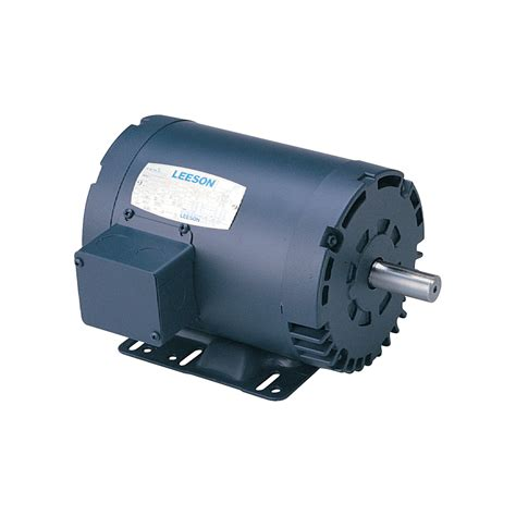 Reversible Electric Motor by Leeson Reversible Electric Motor 1 1 2 Hp 1800 Rpm