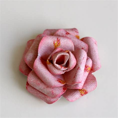 roses tutorial cohen prima layout and paper flower tutorial