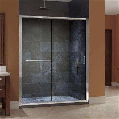sliding shower doors home depot dreamline infinity z 56 in to 60 in x 72 in frameless
