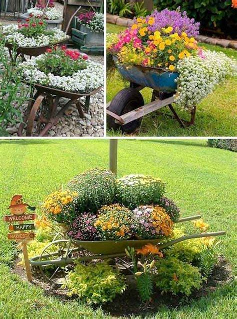 diy craft projects for the yard and garden easy container garden ideas diy projects for front yard