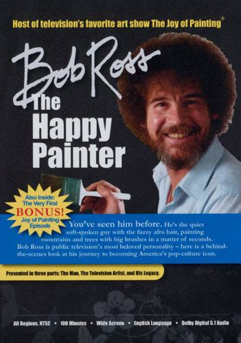 bob ross the happy painter bob ross documentary and two new fitness dvds from gilad