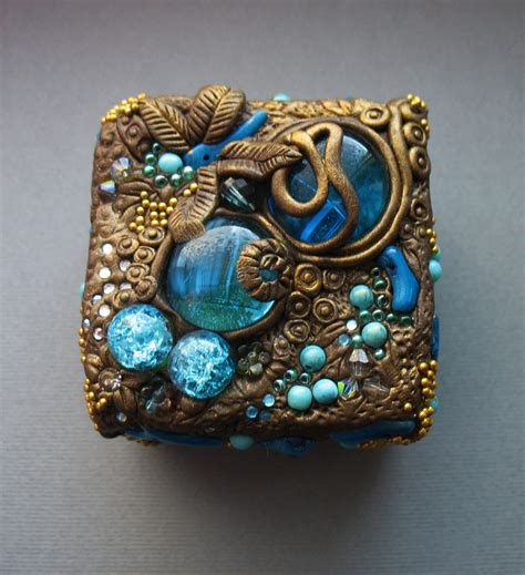 clay to make jewelry polymer clay jewelry boxes by ahha on deviantart