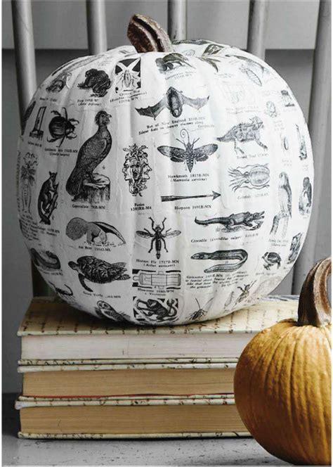 cool decoupage picks no carve pumpkin ideas