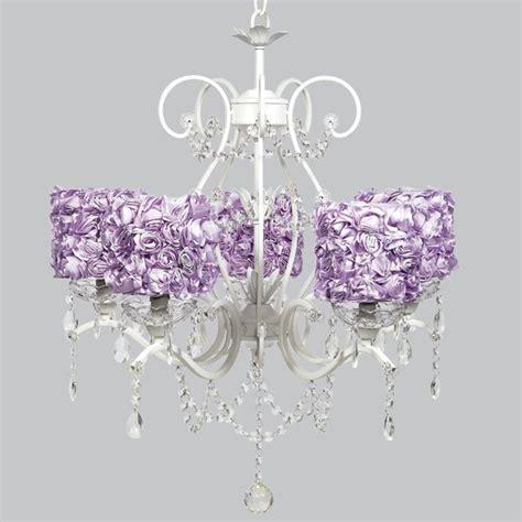 lavender chandelier white 5 light grace chandelier with lavender garden
