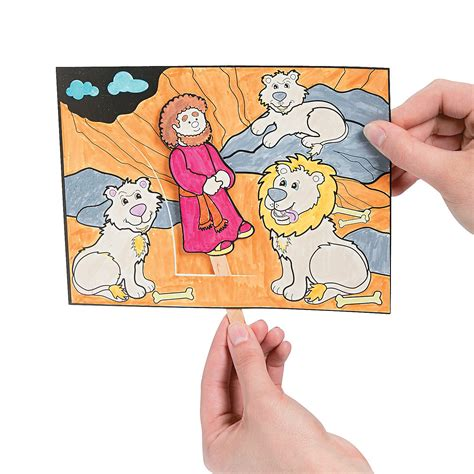 daniel and the lions den crafts for color your own daniel the lions den craft kit coloring