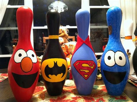 bowling pin craft projects best 25 bowling pins ideas on bowling