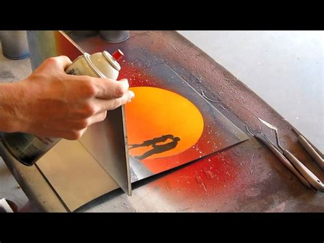 spray paint for beginners quot paradise quot spray paint by ben rabine