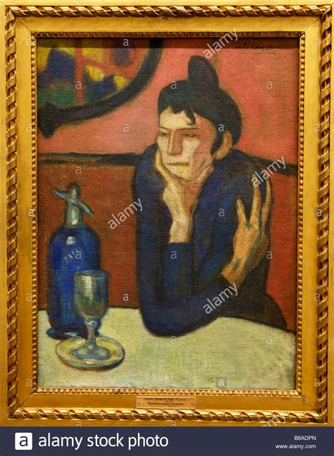 picasso paintings hermitage the absinthe drinker 1901 paublo picasso winter palace