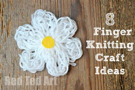 things to make with finger knitting finger knitting how to crafts