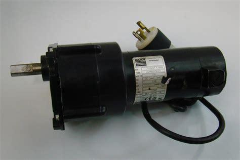 Electric Motor Company by Bodine Electric Company Gear Motor 130v 1 17hp 24a4bepm Za