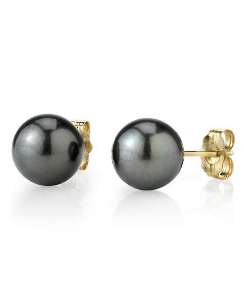bead source buy 12mm tahitian south sea pearl stud earrings various
