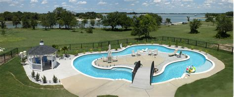 lazy river pools for your backyard modern backyard lazy river pool with lounge area in the