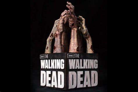 the walking dead the walking dead logo bookends mikeshouts