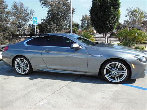 2012 Bmw 650i by 2012 Bmw 650i Coupe Space Gray Fully Loaded Sport Package